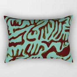 algae maze Rectangular Pillow