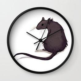 Feeling Ratty Wall Clock