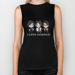 I love Science Biker Tank