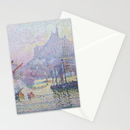 View of the Port of Marseilles Stationery Cards