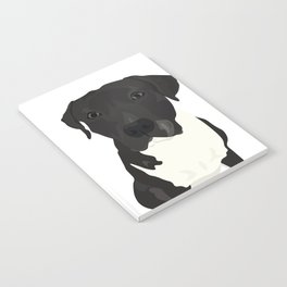 Atticus the Pit Bull Notebook