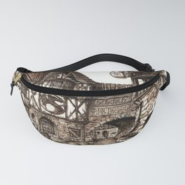 Medieval Town Fanny Pack
