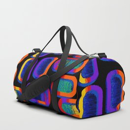90's Tic Tac Pattern Duffle Bag