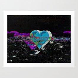 gltchluv Art Print