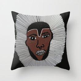 Boogie Man Throw Pillow