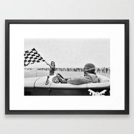 Pendine Sands 6l Framed Art Print