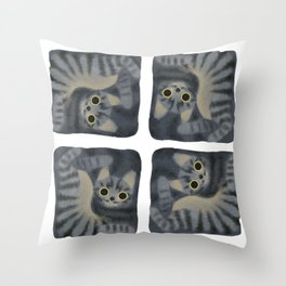 Cats are Square Throw Pillow