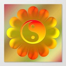 Yin Yang Canvas Print
