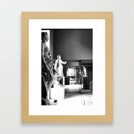 Sculpture Gallery Framed Art Print