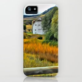 Park City Barn in Fall 1 iPhone Case