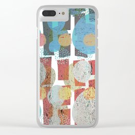 Back to the Fifties Clear iPhone Case