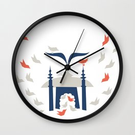Gathering Birds (Home) Wall Clock