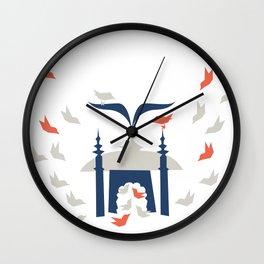 Gathering Birds (Home) Wall Clock