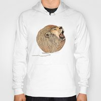 lions Hoodies featuring Unravel Me by Sandra Dieckmann