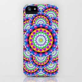 Mandala Psychedelic Visions G324 iPhone Case