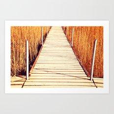 King Midas's Bridge (from 'King Midas' series) Art Print