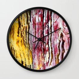 Rocky Wood Wall Clock