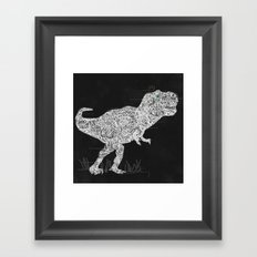 Lace Rex Framed Art Print