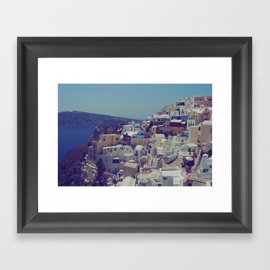 Oia, Santorini, Greece II Framed Art Print