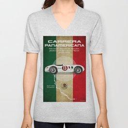 Panamericana Vintage C-Type Unisex V-Neck