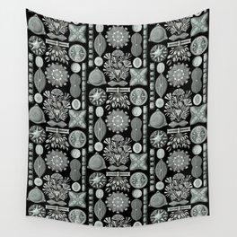 Ernst Haeckel - Scientific Illustration - Diatomea Wall Tapestry