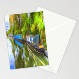 Narrow Boat Touch Of Art Stationery Cards