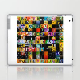 RELENTLESS 01 Laptop & iPad Skin