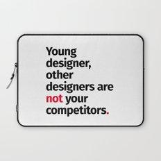 Young Designer — Advice #1 Laptop Sleeve