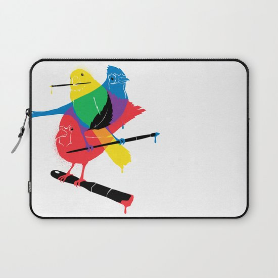 Colors of a Feather Laptop Sleeve