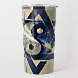 Jewish Yin Yang Travel Mug