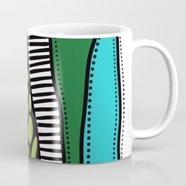 Green Dive -Plongeon vers-textures Coffee Mug
