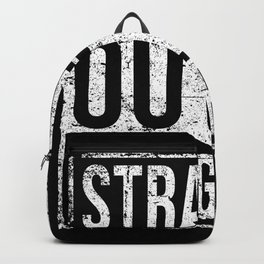 Straight Outta 9th Grade Backpack