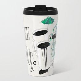 Us And Them: Coffeeholic Anonymous. Travel Mug