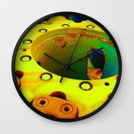 Gears of War in Gold Wall Clock