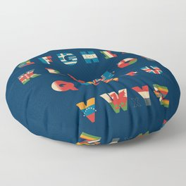 The Alflaget 3 Floor Pillow