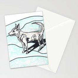 Nora dog Stationery Cards