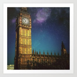 Big Ben (à la brune) Art Print