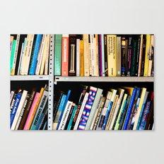 Books, Books and More Books Canvas Print
