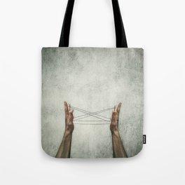 cats cradle Tote Bag