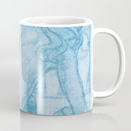 "Egon Schiele ""Seated Nude, Seen from the Behind"" Coffee Mug"