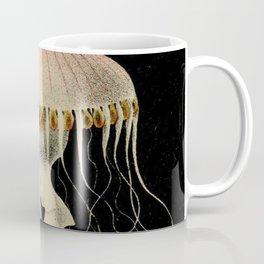 Vintage Illustration of a Jellyfish (1853) Coffee Mug