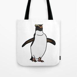 Fiordland Penguin Tote Bag