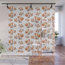 Happy Orange Fish Wall Mural