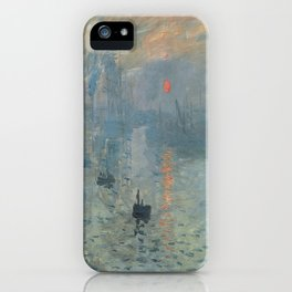 Claude Monet's Impression, Soleil Levant iPhone Case