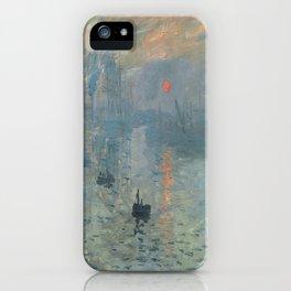 Claude Monet's Impression, Soleil Levant iPhone Case