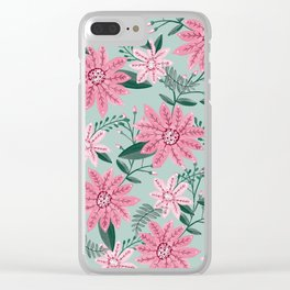 flowers / 53 Clear iPhone Case