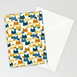 Nala Cat Pattern Peacock Stationery Cards