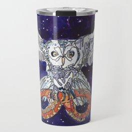 Owl & Snake Travel Mug