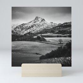 Trevenque. After The Snowstorm. Mini Art Print