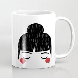 Red blush Coffee Mug